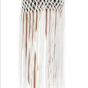 Other - White swim bottom cover up skirt